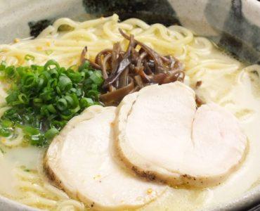 宮崎の幻の地鶏【ぶり鶏】の鶏ガラをじっくり炊いたスープがたまらない!!
